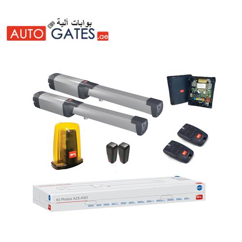 BFT PHOBOS AC A25 swing gate operator Dubai |  upto 2.5 mtrs  width swing gate motor